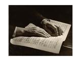 Otto Klemperer's Hands