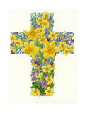 Floral Cross I  1998