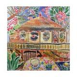 Lotus Cafe  Ubud  Bali  2002