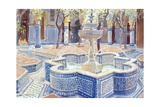 The Blue Fountain  2000