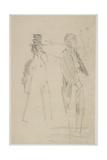 Two Vaudeville Gentlemen  C1888