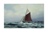 Making Sail after a Blow  1983
