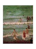 Bathers  Dieppe  1902