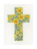 Floral Cross II  2000
