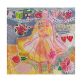 Fairy with Hearts and Flowers  2006