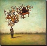 Thanks for the Melodies Tableau sur toile par Duy Huynh