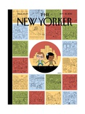Goings On About Town - The New Yorker Cover  September 23  2013