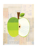 Fruit Collage - Green Apple