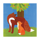 Forest Babies - Fox Family