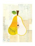 Fruit Collage - Yellow Pear