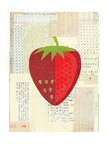 Fruit Collage - Red Strawberry
