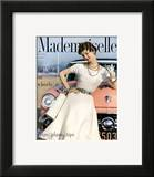 Mademoiselle Cover - April 1954