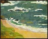 The Beach Near Le Pouldu  1889