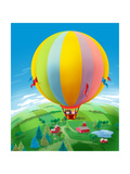 Hot Air Balloon - Humpty Dumpty