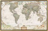 World Political Map  Executive Style