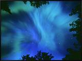 Northern Lights Or Aurora Borealis  Tilton Lake  Sudbury  Ontario  Canada