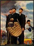 """Bottom of the Sixth""  (Three Umpires)  April 23 1949"