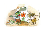The Present - Turtle Giclée par Valeri Gorbachev