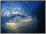 Inside Breaking Ocean Wave