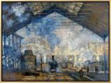 Monet: Gare St-Lazare  1877