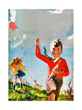 Flying Kites - Child Life