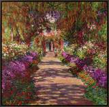 Path in Monet's Garden  Giverny