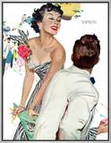 "I Want A Man  - Saturday Evening Post ""Leading Ladies""  April 15  1950 pg40"