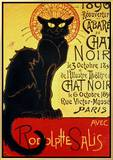 Reopening of the Chat Noir Cabaret  1896