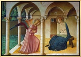 The Annunciation  Florence  (Around 1450)