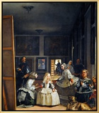 Las Meninas (With Velazquez' Self-Portrait) or the Family of Philip IV  1656