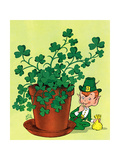 Leprechaun and Clover - Jack & Jill
