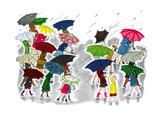 Umbrellas - Jack & Jill