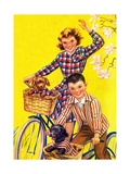 Spring Bike Ride - Child Life