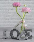 Composition Florale : Love