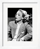 Half-Length Portrait of the Celebrted German Movie Actress Marlene Dietrich