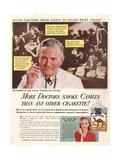 Camels  Cigarettes Smoking Medical  USA  1946