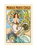 Monaco, Monte Carlo Aluminium par Alphonse Mucha
