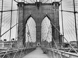 Pedestrian Walkway on the Brooklyn Bridge