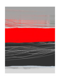 Abstract Stripe Theme Red