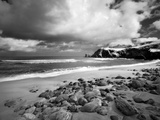 Infrared Image of Dalmore Beach  Isle of Lewis  Hebrides  Scotland  UK