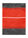 Grey and Red Abstract 2