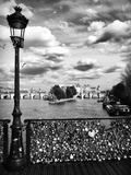 The Seine River - Pont des Arts - Paris