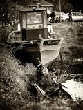 Fishing boat - Vertoux - Loire-Atlantique - Pays de la Loire - France