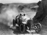 Car Race for the 'Targa Florio' in Sicily  1922