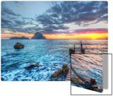 Distant Rocks Off Ibiza