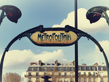Subway - Metropolitain - Paris - France