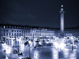Place Vendome by Night - Paris - France