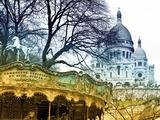 Carousel 18th century - Sacré-Cœur Basilica - Montmartre - Paris - France