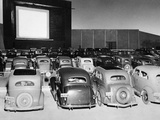 Drive-in cinema in America  1938