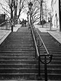 Banister view - Montmartre - Paris